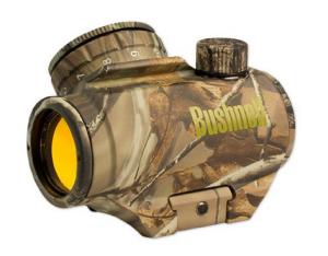 Bushnell-Trophy-TRS-25-Red-Dot-Sight-Riflescope-1-x-25mm-tilted-front-lens-300x234