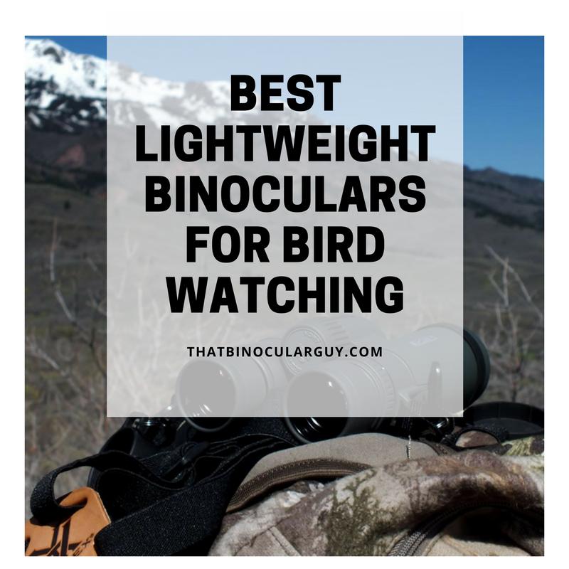 Best Lightweight Binoculars for Bird Watching - 3 Top Sellers of 2017