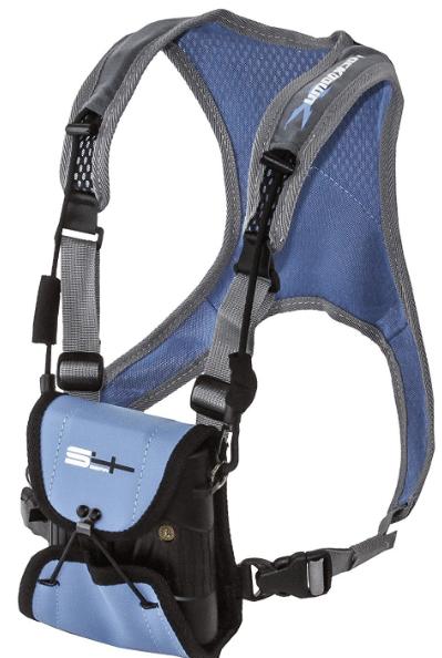 binocular harness for archery hunting